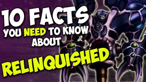 10 Facts About That You Need To by 10 Facts About Relinquished You Need To Yu Gi Oh
