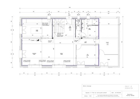 renovation plans plans de r 233 novation de rdc de maison