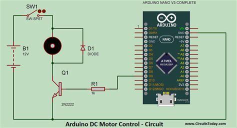 arduino code to control motor dc motor speed control using arduino pwm with program