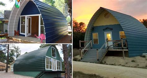 tiny arched homes   affordable
