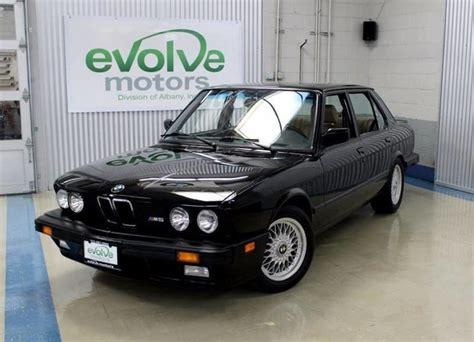 1988 bmw m5 for sale 1988 bmw m5 4dr sedan for sale 81854 mcg