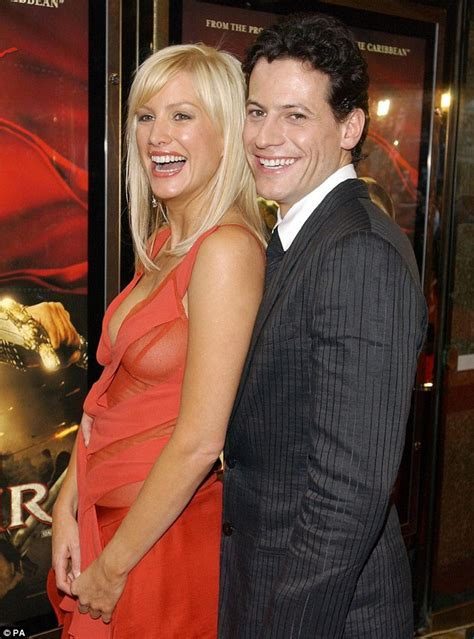 alice evans mail online ioan gruffudd and wife alice evans pick mini me daughter