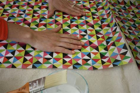 Can You Use Any Paper For Decoupage - how to decoupage paper onto the back of a shelf how tos