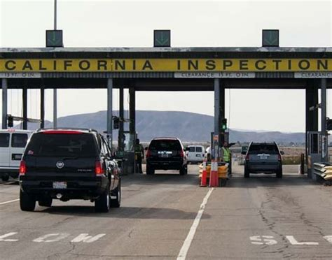 oregon boat inspection stations california inspection station protects agriculture angers