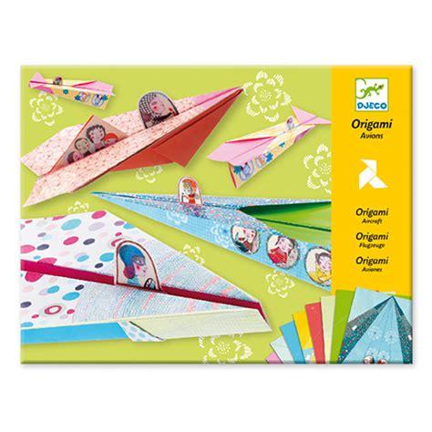 djeco origami djeco origami petits avions en papier acheter en ligne