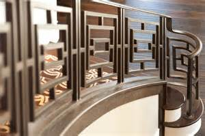 Iron Handrails Exterior Close Ups Custom Iron Railing Traditional Staircase