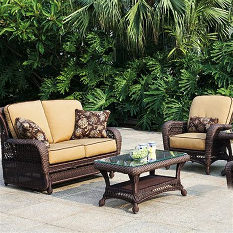 Outside Wicker Furniture by Breathe All Weather Wicker Collection From Erwin And Sons Family Leisure