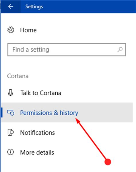 how to manage cortana settings on the windows 10 fall how to manage permissions for cortana in windows 10