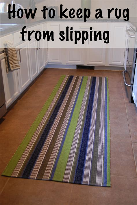 keep rugs from slipping keep a rug from slipping diy project aholic