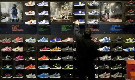foot athlete shoe store non athletes snapping up fashionably cool running shoes