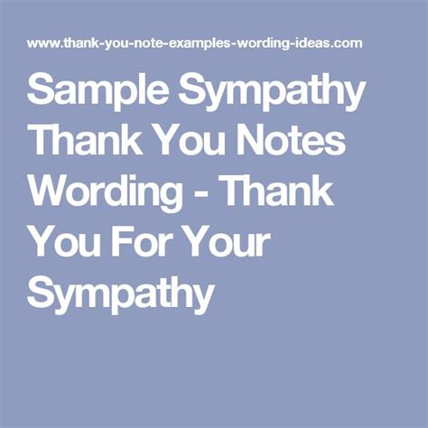 Thank You Note To Our 25 Best Ideas About Sympathy Thank You Notes On Thank You Thank You Card