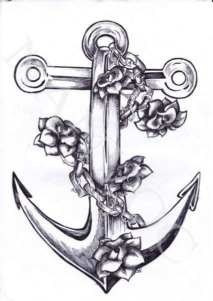 anchor pattern drawing best 25 anchor tattoo design ideas on pinterest anchor