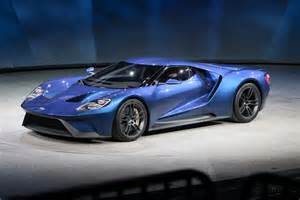 new ford cars 2016 new 2016 ford gt unveiled