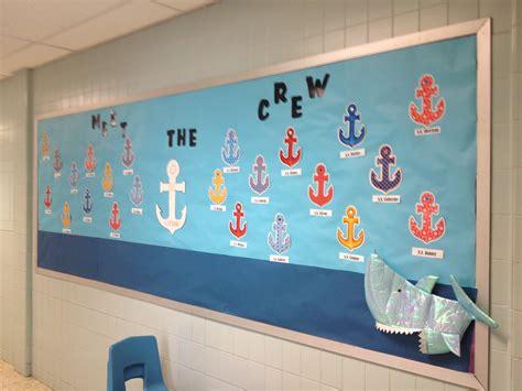 nautical classroom decorations nautical theme classroom bulletin board for september