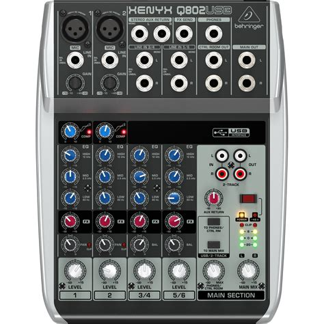 Mixer Audio Behringer 8 Channel behringer q802usb 8channel audio mixer price in pakistan