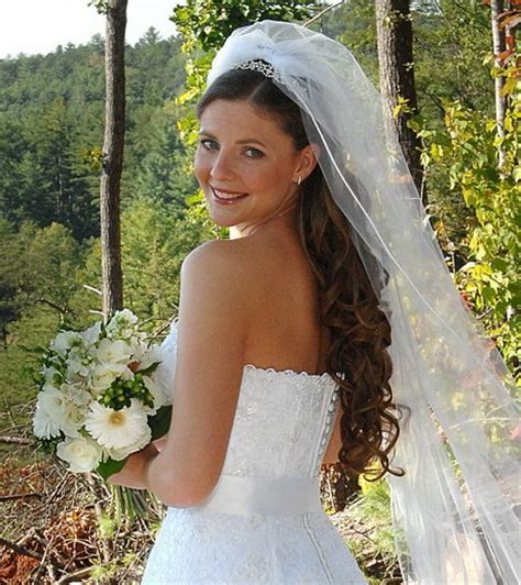 hairstyles down with veil bridal hairstyles with veil
