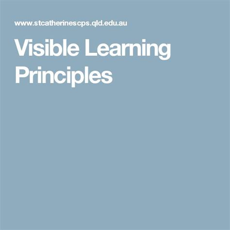 10 mindframes for visible learning teaching for success books 1000 ideas about visible learning on success