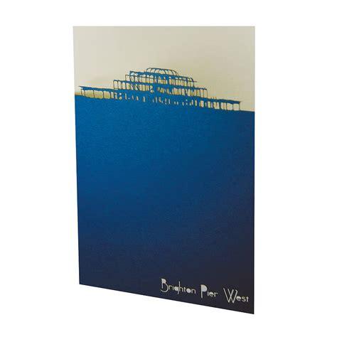 Brighton Gift Card - set of three lasercut brighton landmark cards by urban twist notonthehighstreet com