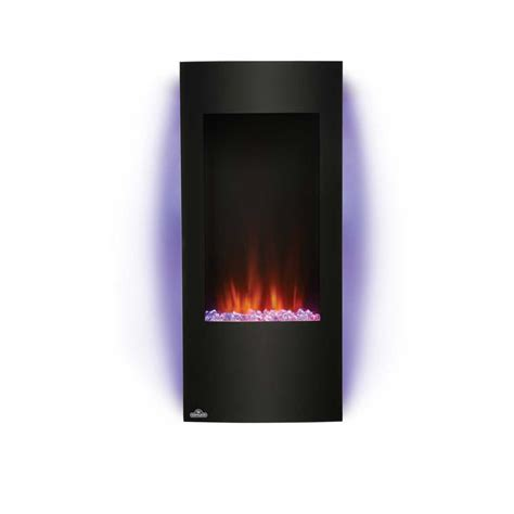Vertical Electric Fireplace by Napoleon Azure Nefv38h 38 Quot Vertical Wall Mount Electric