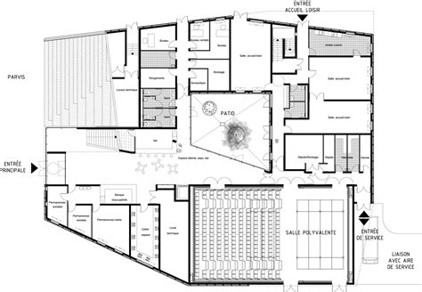 cultural center floor plan cre a te creativity architecture technology
