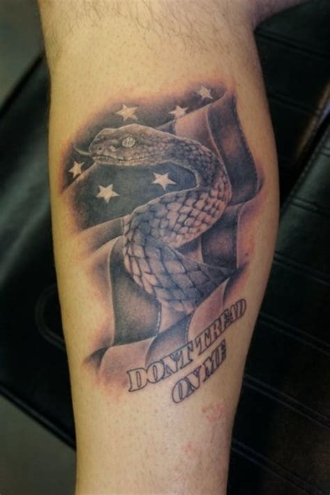 don t tread on me tattoos designs ideas and meaning