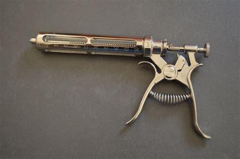 Automatic Drenching Gun Henke Hsw 30ml Spuit Otomatis Hsw Drench Matic revolver syringe gallery