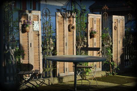 Sichtschutz Deko Fenster by Sichtschutz Und Deko Mit Alten Fensterl 228 Den Deko Mit