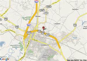 map of counrty inn and suites by carlson goldsboro goldsboro