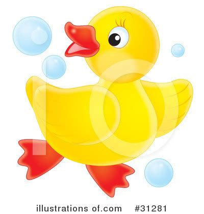 outline rubber sts ducky clipart