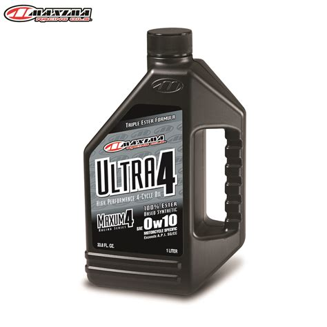 4t motocross gear maxima 4t ultra 4 100 ester synthetic sae 0w10 1 litre