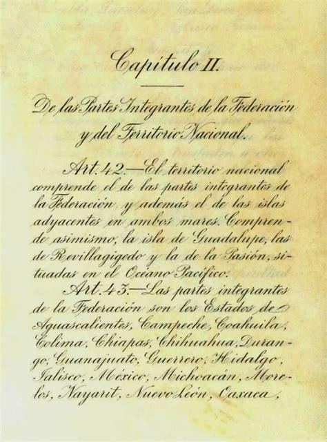 constitucion de 1917 file pagina original del articulo 42 de la constitucion de