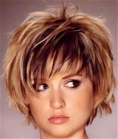 short haircuts with lots of layers a few ruffles will always add an extra something