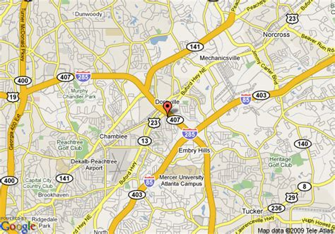 doraville map map of inn atlanta northeast doraville atlanta