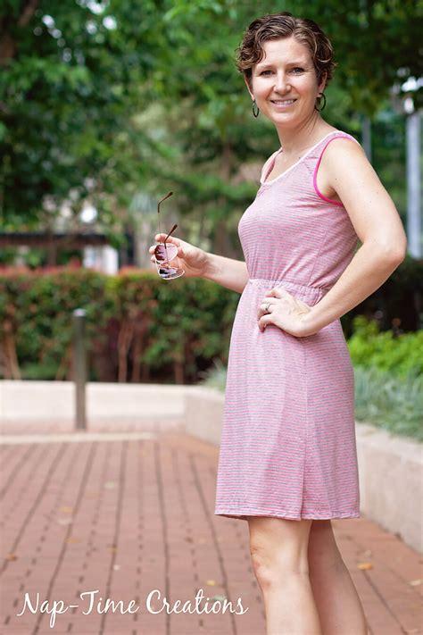 dress pattern nap women s tank dress free pattern nap time creations