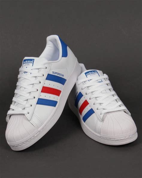 Adidas Cowokk adidas superstar white blue herbusinessuk co uk