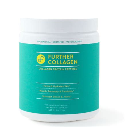 Collagen Peptides Detox by Further Food Collagen Peptides Grass Fed 100