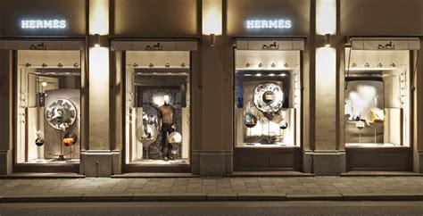 hermes shop displays  tim john fall  germany