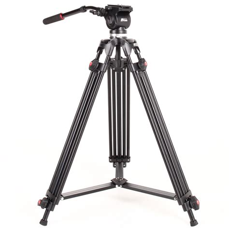 Tripod Fluid professional heavy duty camcorder tripods with fluid drag