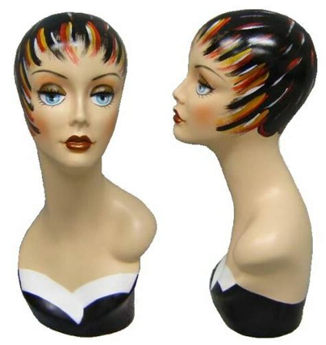 female display heads mannequin head forms display mannequin head display head boutique display female head