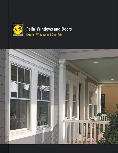 Exterior Windows And Doors Staggering Pella Windows And Doors Pella Windows And Doors Exterior Window And Door Trim Pella