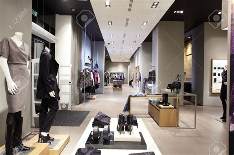 design fashion warehouse clothes store in new york style jeans