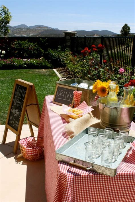 Backyard Bbq Baby Shower Ideas Backyard Baby Q Baby Shower