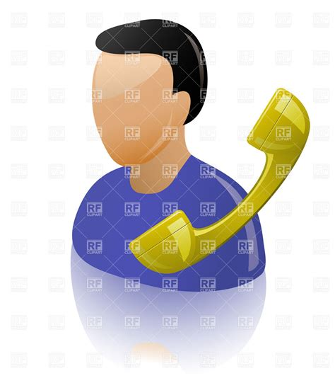 eps format support personal assistant and telephone receiver support icon
