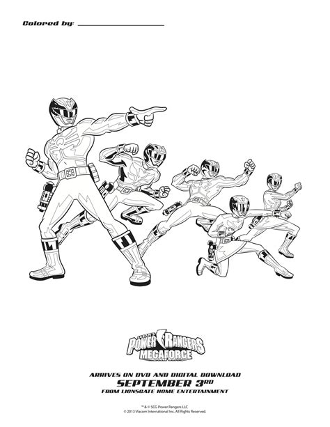 coloring pages of power rangers megaforce megaforce mask coloring pages