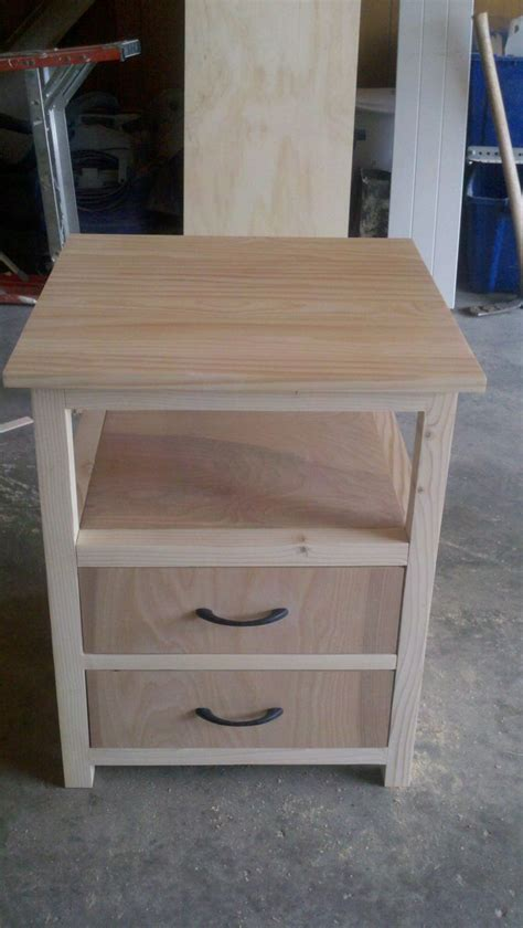 build night stand woodworking projects plans