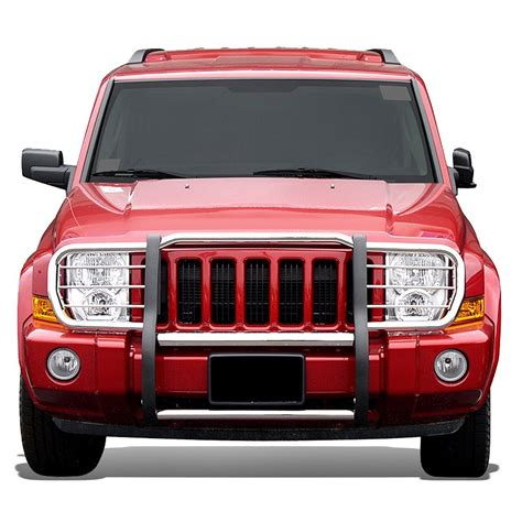 jeep front grill guard 06 10 jeep commander xk front bumper protector brush