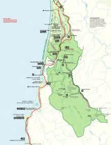 redwood forest oregon map redwood national park home