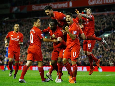 new year parade liverpool 2015 liverpool 1 leicester 0 alberto moreno kicked in the
