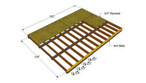 How To Build A Floor For A House How To Build A 12x16 Shed Howtospecialist How To Build
