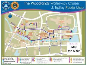 transportation map transportation about the woodlands